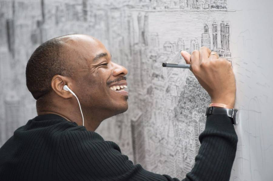 Stephen Wiltshire Drawing