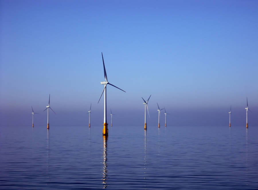 Barrow Offshore Wind Farm In The UK