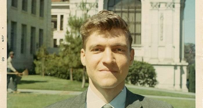 Young Ted Kaczynski In Suit