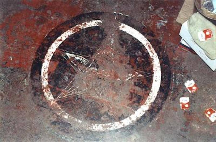 Pentagarm On Manson's Cell Floor