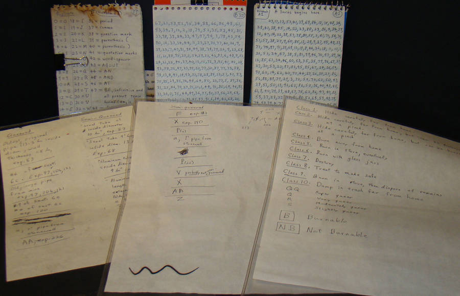 Unabomber Coded Journal
