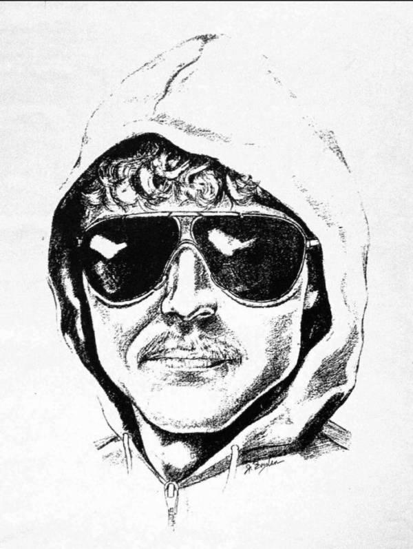 FBI Sketch Of The Unabomber