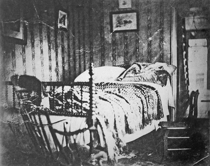 Abraham Lincoln Assassination Deathbed