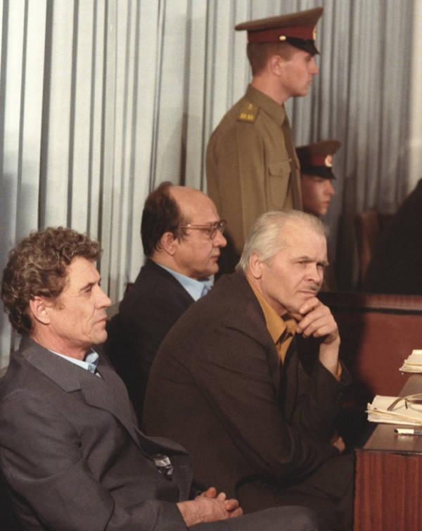 Anatoly Dyatlov At Trial