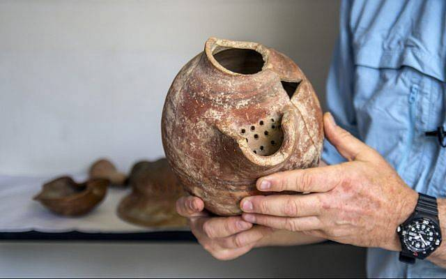 Ancient Ceramic Beer Jug