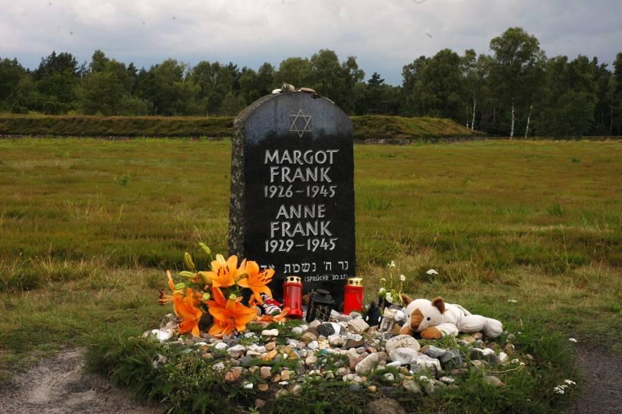 Anne Frank Headstone