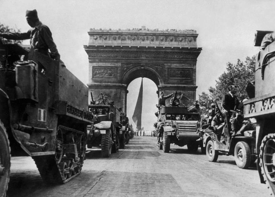Arc De Triomphe In 1944
