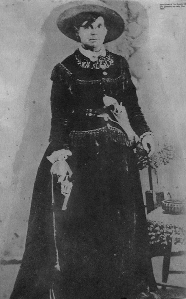 Belle Starr Studio Portrait