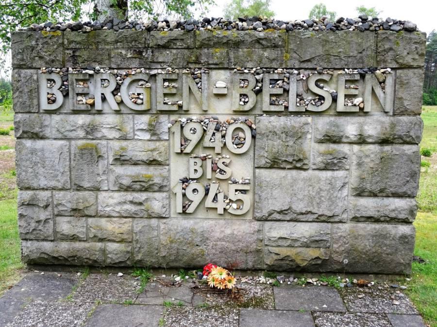 Bergen Belsen Concentration Camp Memorial Site