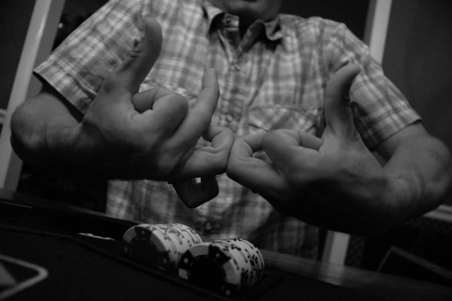 Blood Sign Poker Chips