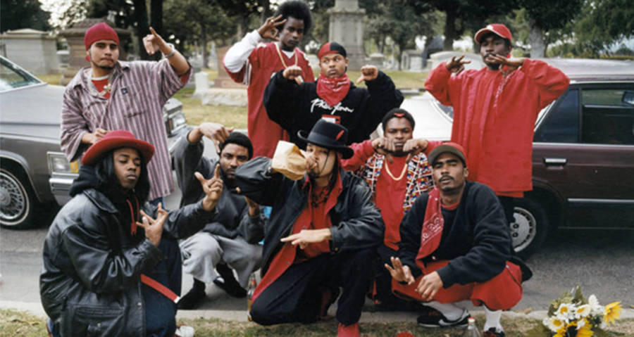 The Bloods: Inside The Infamous Gang In 21 Startling Photos