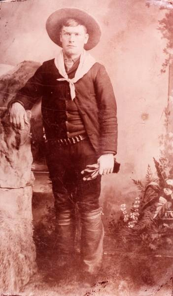 Butch Cassidy As A Young Man