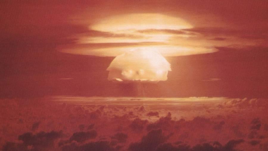 Castle Bravo Hydrogen Bomb