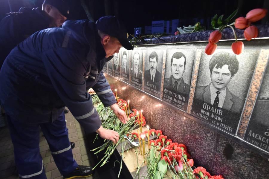 Chernobyl Firefighter Memorial
