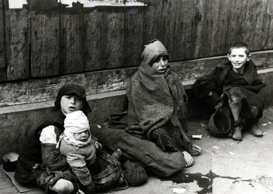 Warsaw Ghetto Street Children