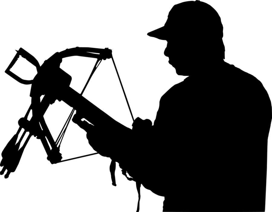 Crossbow Hunter Silhouette