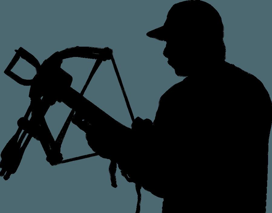 Crossbow Hunter Silhouette