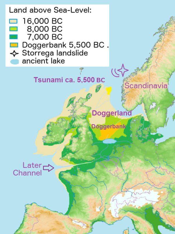 Doggerland Map