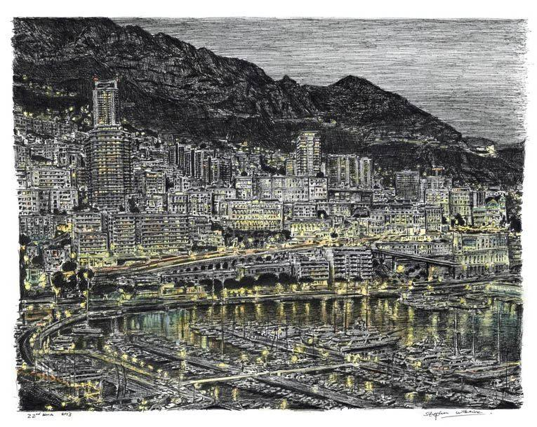 Drawing Of Monte Carlo