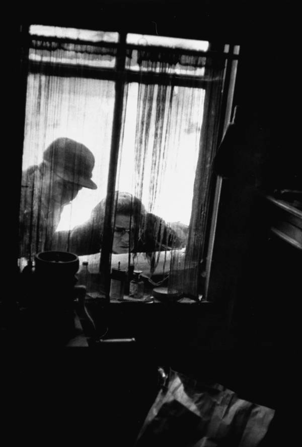 Women Peering Into Gein's Window