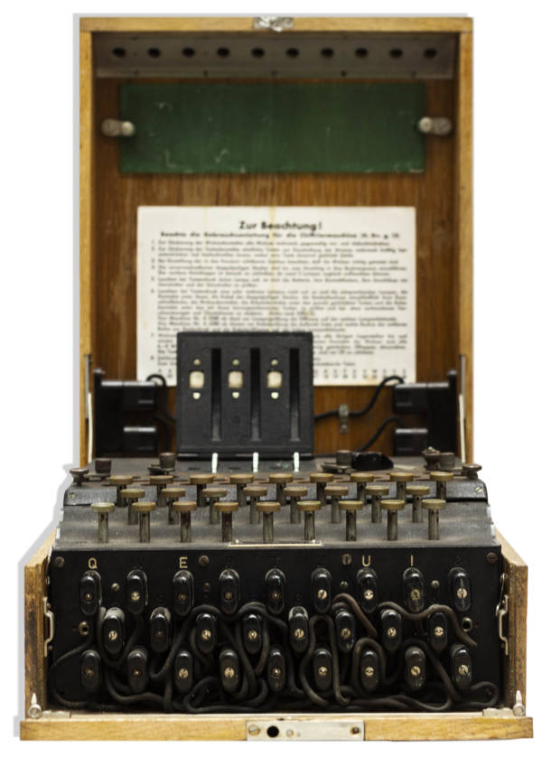 Enigma Machine Full View