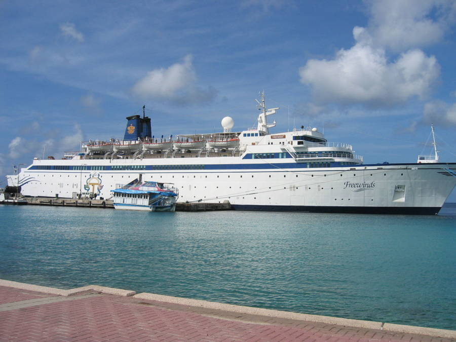 Freewinds Scientology Cruise Ship