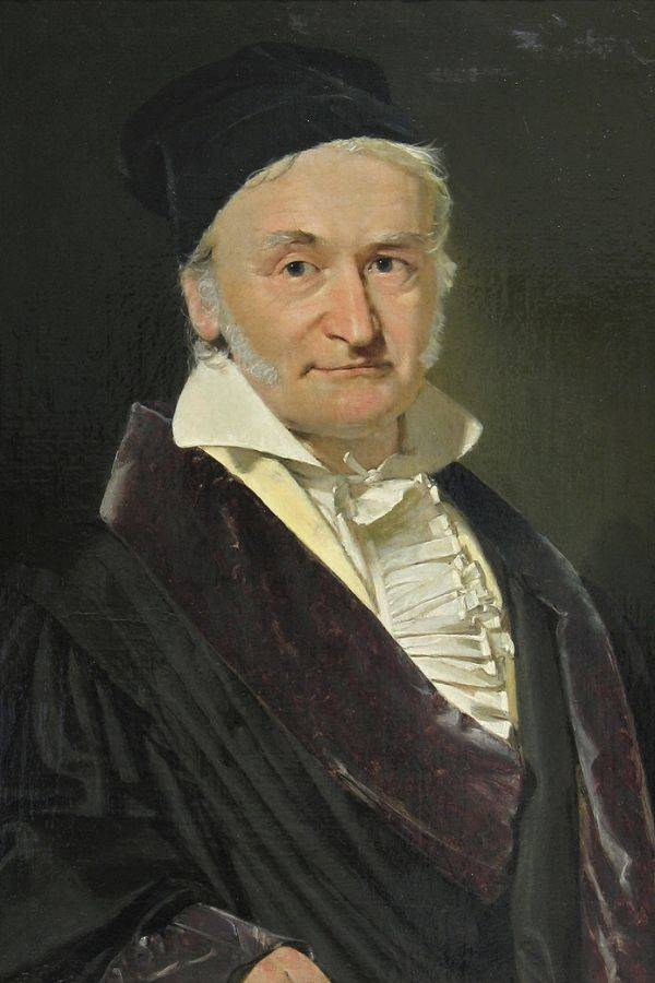 Painting Of Carl Friedrich Gauss