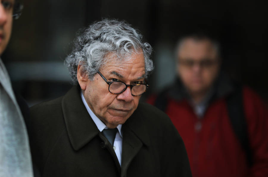 John Kapoor Leaving Court