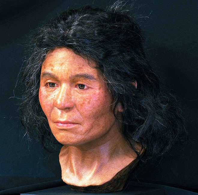 Jomon Woman Reconstruction
