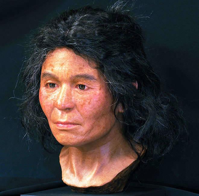 Jomon Woman Reconstruction