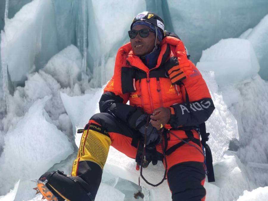 Kami Rita Sherpa On Ice