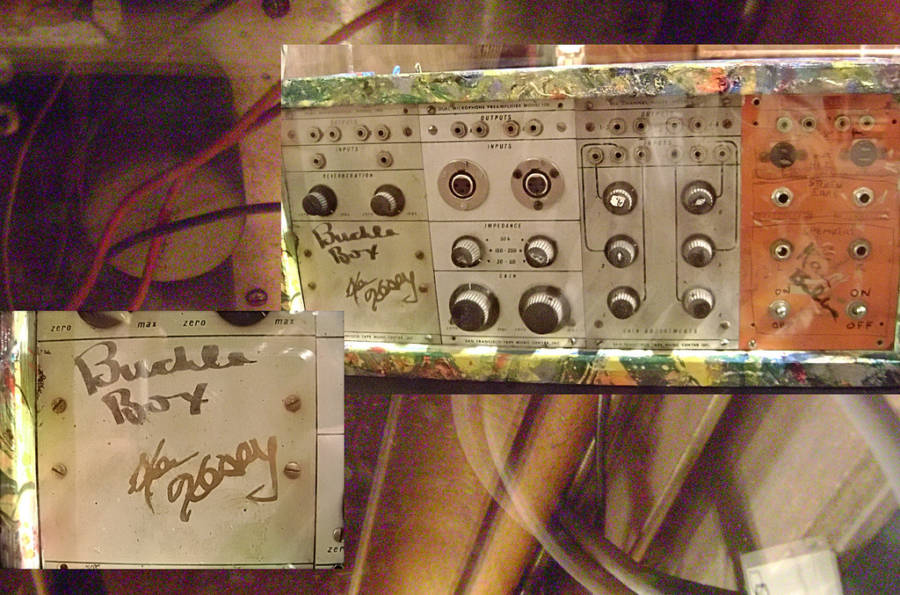 Ken Kesey Buchla Synthesizer