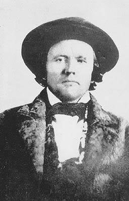 Kit Carson In A Beaver Hat