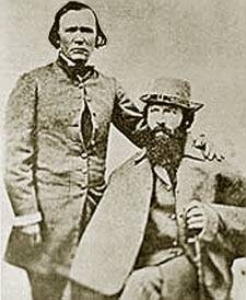 Kit Carson With John C. Frémont