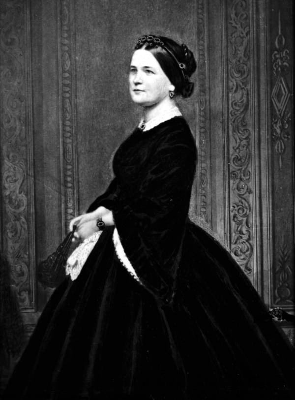 Mary Todd Lincoln Half-Smiling