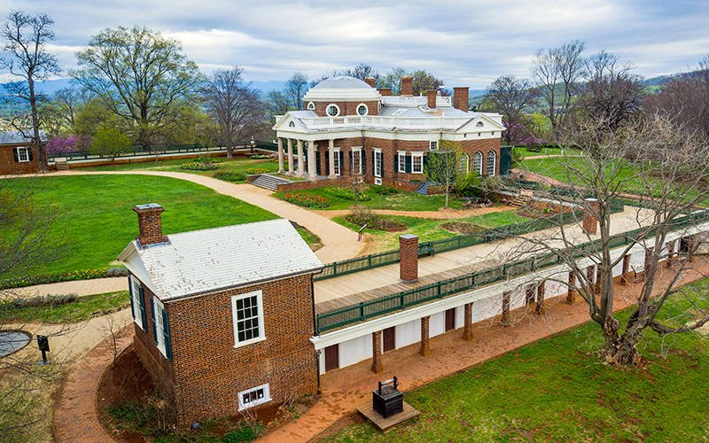 Sally Hemings' Quarters At Monticello