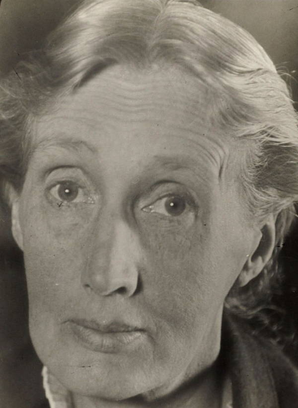 Portrait Taken Before Virginia Woolf's Death