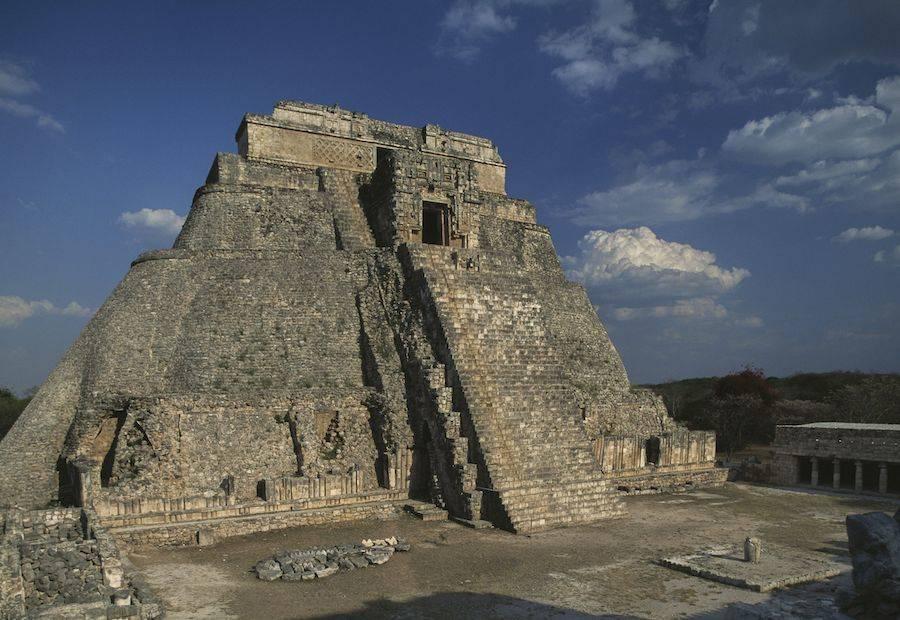 Pyramid Yucatan