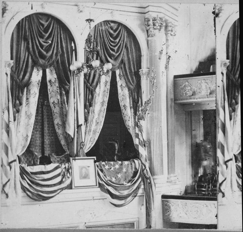 Scene Of Abraham Lincoln Assassination
