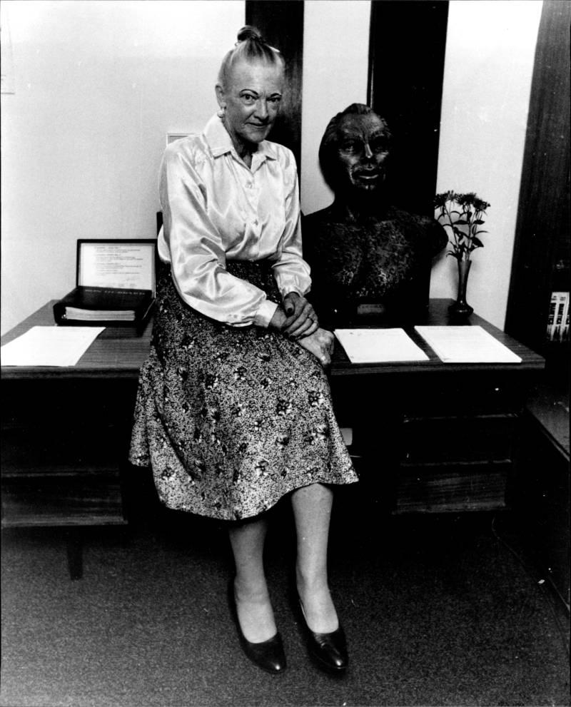 Scientology Audrey Devlin L Ron Bust Oct 27 1987