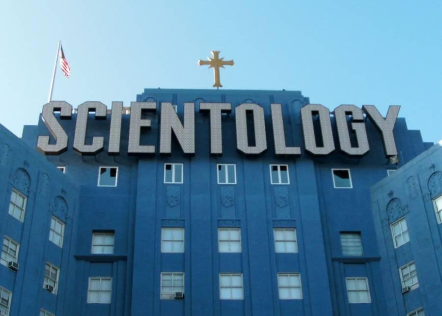 Scientology Building Los Angeles