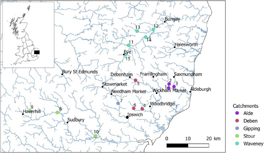 Shrimp Cocaine Sample Map