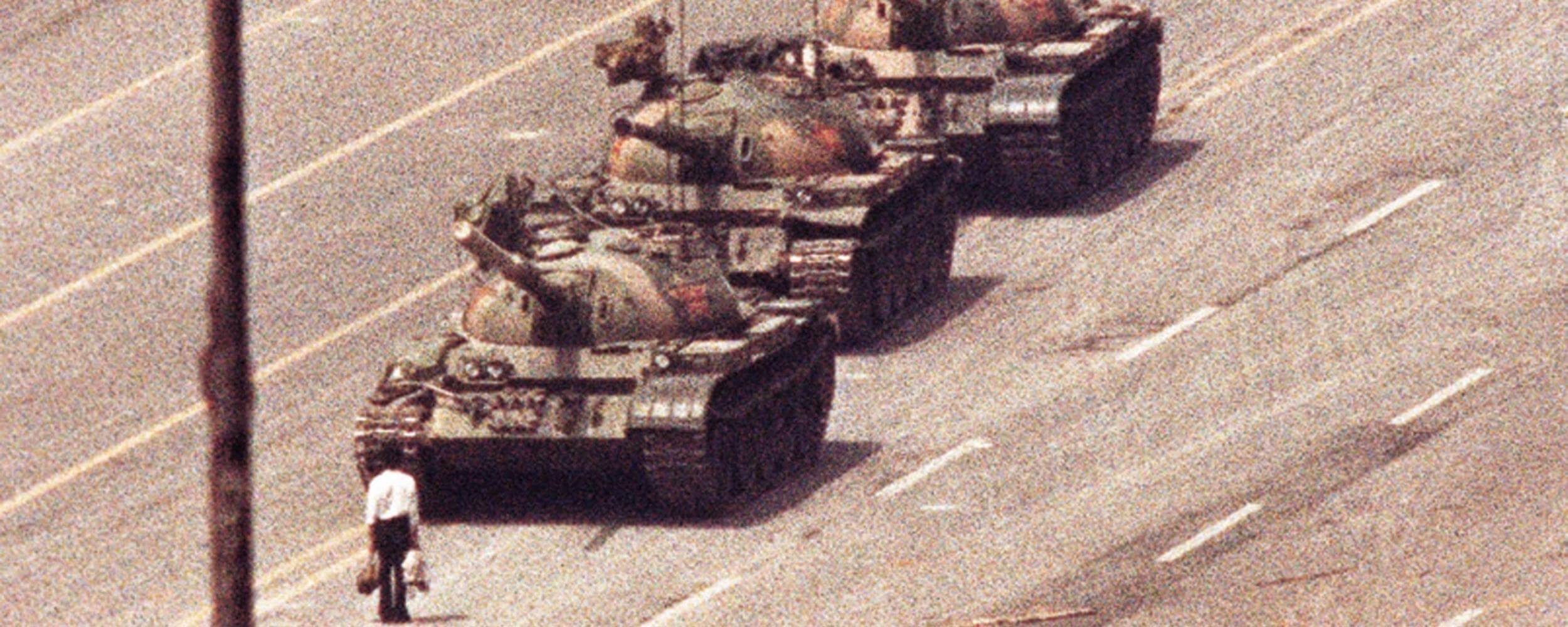 Tank Man Photo