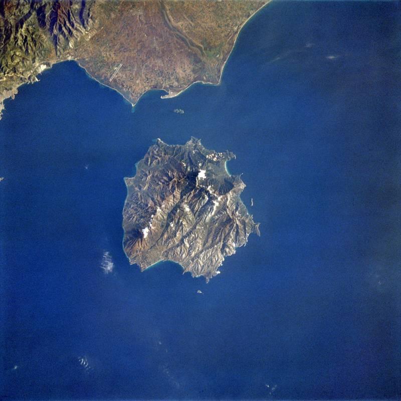 Thasos Aerial Photo