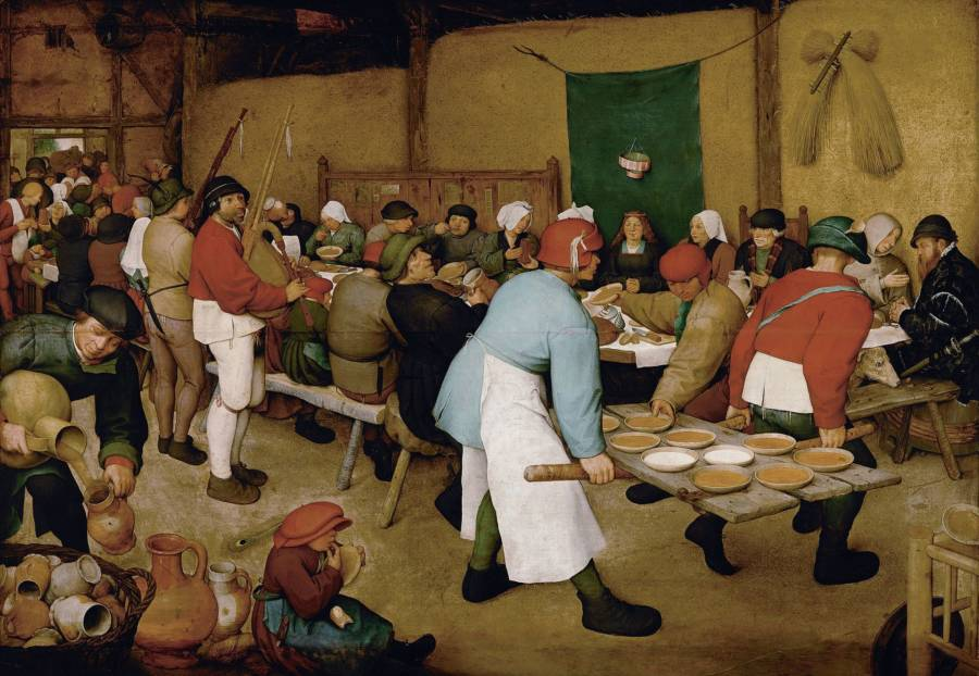 The Peasant Wedding Painting