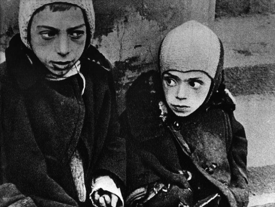 Two Children In The Warsaw Ghetto