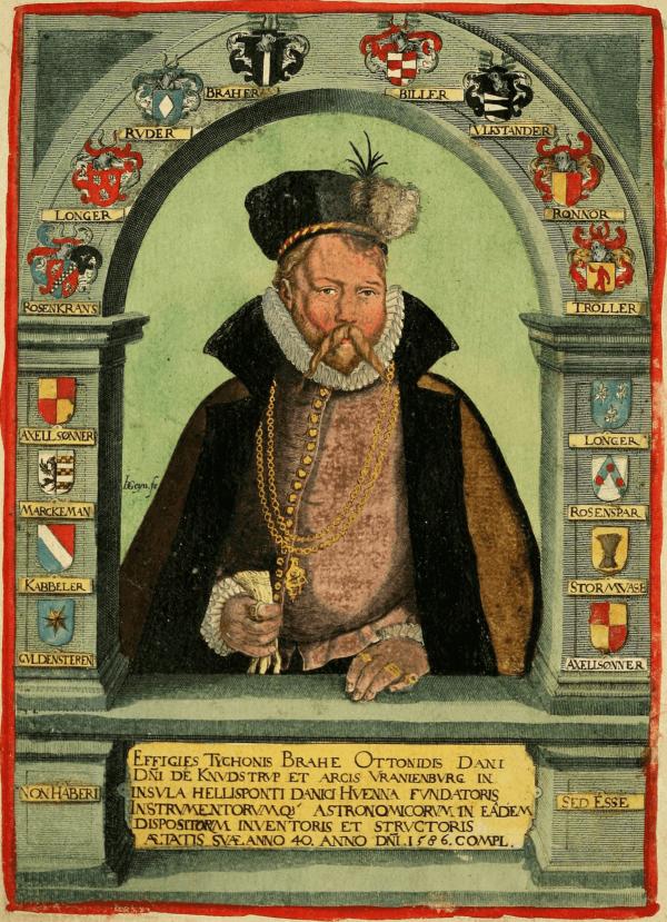 Tycho Brahe Drawing