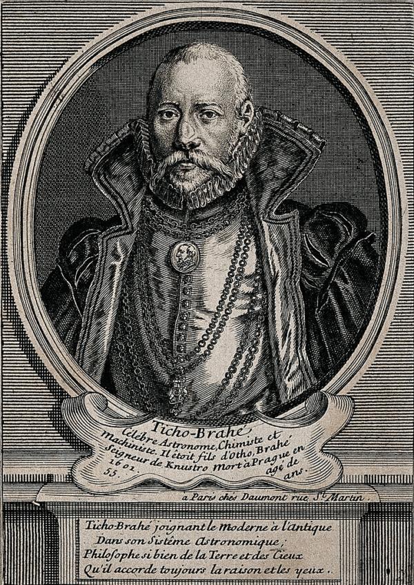 Tycho Brahe Engraving
