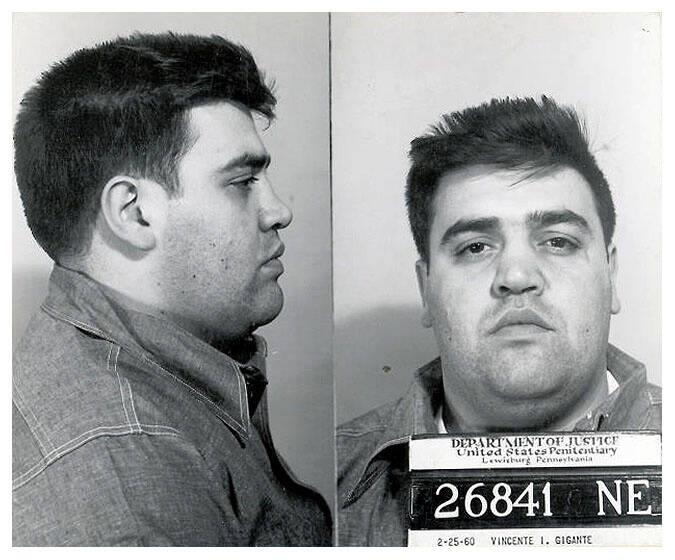Vincent Gigante Mugshot