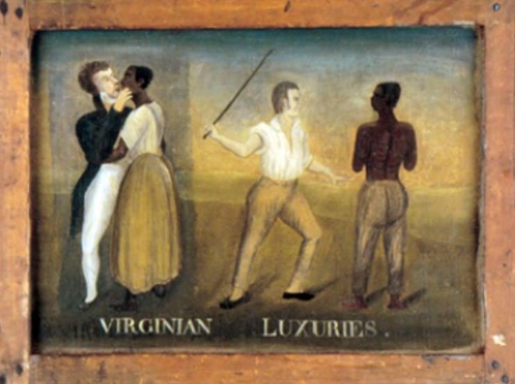 Painting Of Virginia Slaves